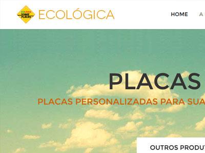Ecológica Placas